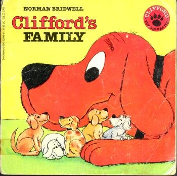 Cover of: Clifford's Family (Clifford the Big Red Dog) | Norman Bridwell