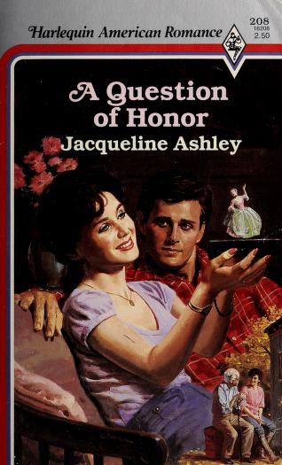 Cover of: A Question Of Honor | Jacqueline Ashley