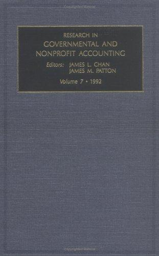 Download Research in Governmental and Nonprofit Accounting