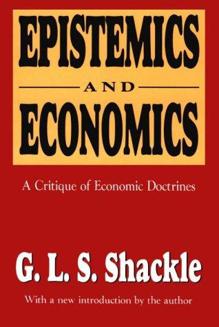 Download Epistemics & economics