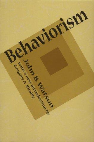Download Behaviorism