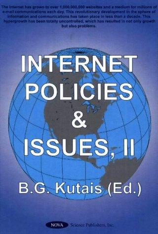 Internet Policies and Issues