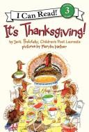 Download It's Thanksgiving! (I Can Read Book 3)