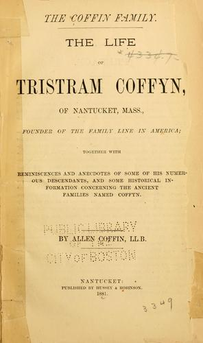 The Coffin family