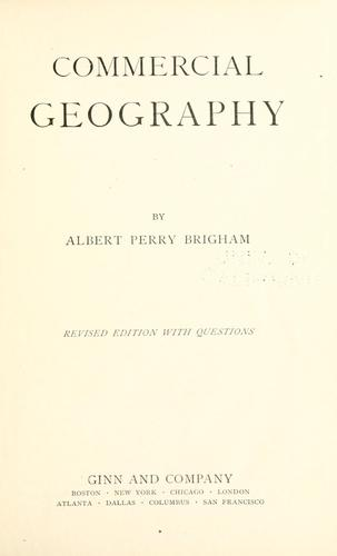 Download Commercial geography