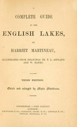 Download A complete guide to the English lakes