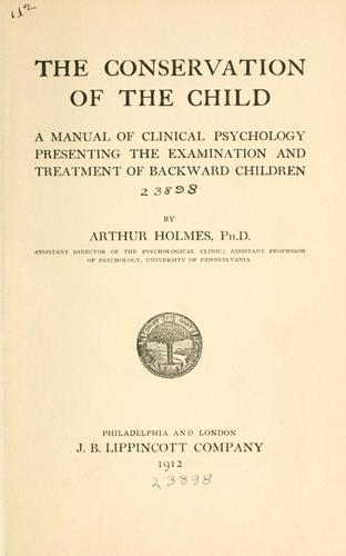 Download The conservation of the child