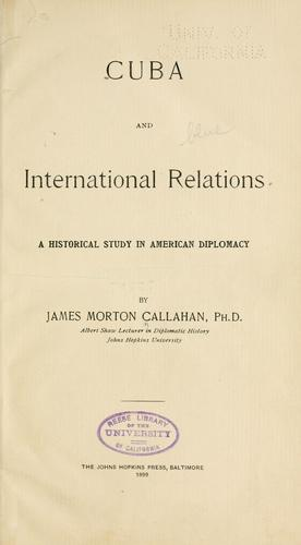 Cuba and international relations