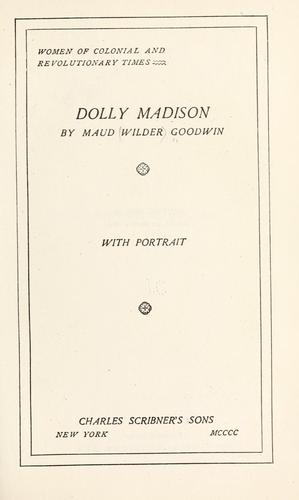 Download Dolly Madison