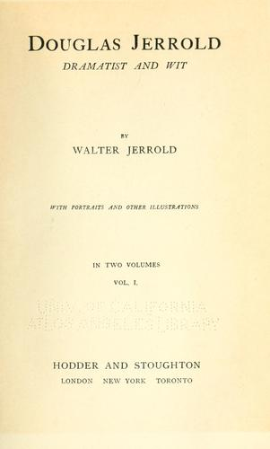Douglas Jerrold, dramatist and wit