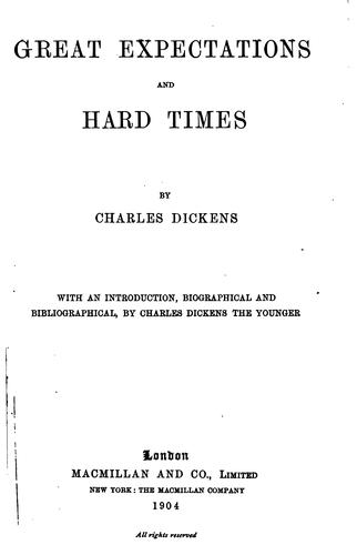 Download Great Expectations ; And, Hard Times