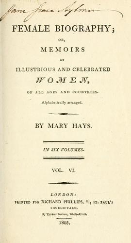 Female biography