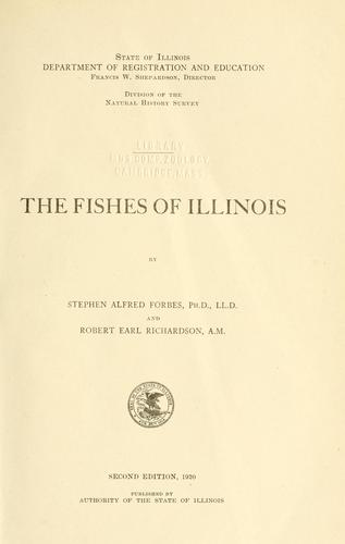 Download The fishes of Illinois