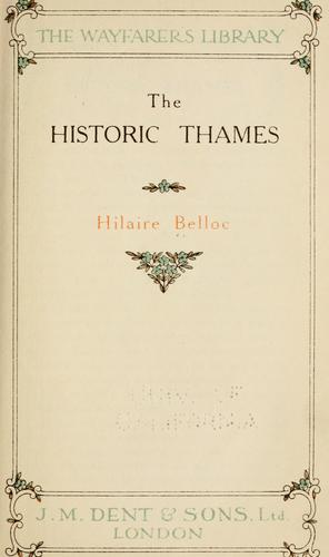 Download The  historic Thames.