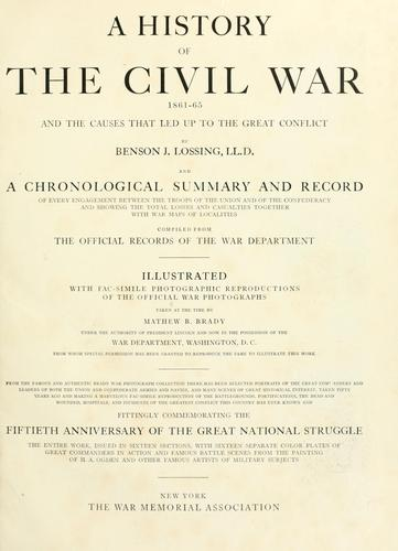 Download A history of the civil war, 1861-65
