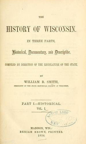 Download The history of Wisconsin.