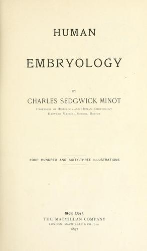 Human embryology.