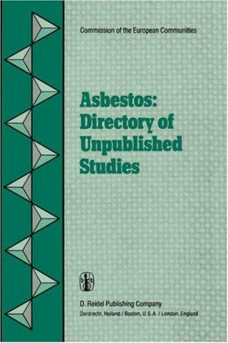 Download Asbestos: Directory of Unpublished Studies