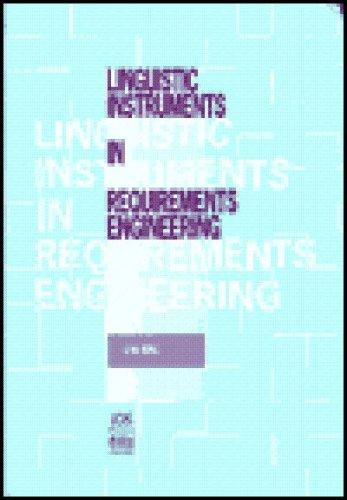 Linguistic Instruments in Requirements Engineering