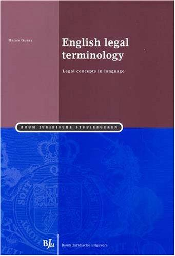 Download English Legal Terminology