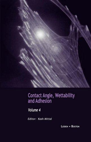 Download Contact Angle, Wettability and Adhesion