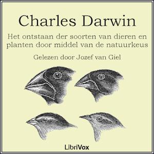 Ontstaan der Soorten(4864) by Charles Darwin audiobook cover art image on Bookamo
