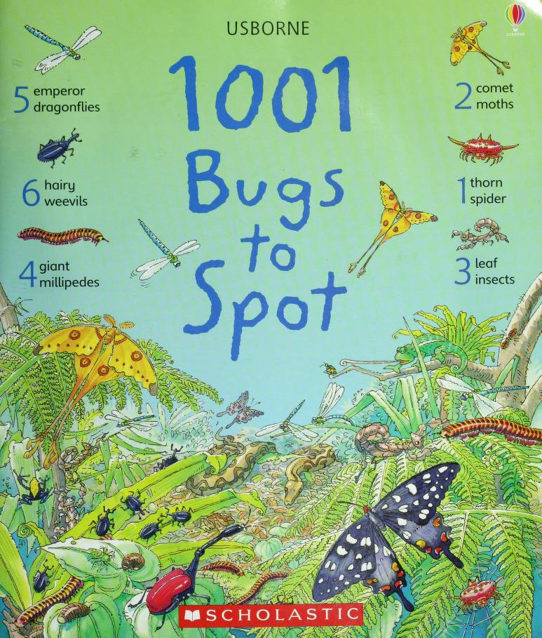 1001 bugs to spot by Emma Helbrough