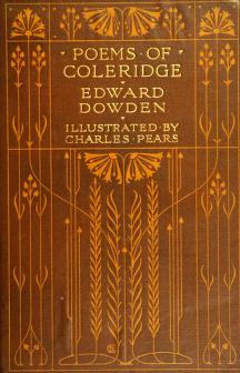 Cover of: Poems of Coleridge