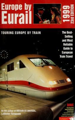 Cover of: Europe by Eurail | LaVerne Ferguson-Kosinski