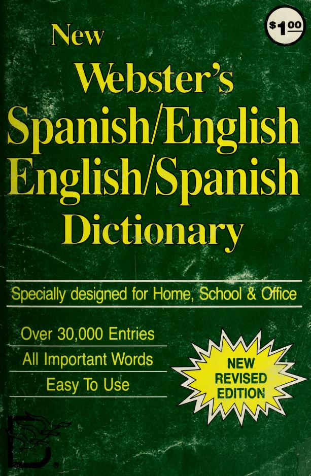New Webster's English-Spanish Dictionary by Edward G. Finnegan