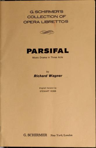 Cover of: Parsifal   Richard Wagner