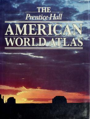 Cover of: The Prentice-Hall American world atlas   Hilary_Fashion