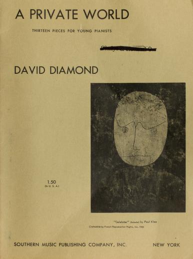A private world by Diamond, David