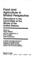 Food and Agriculture in Global Perspective by United Nations. Committee of the Whole.