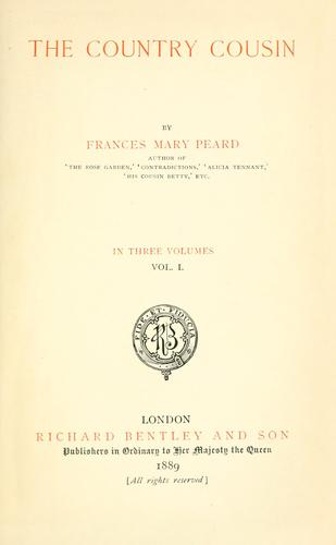 The country cousin by Frances Mary Peard