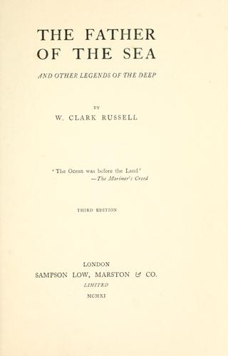 The father of the sea by William Clark Russell