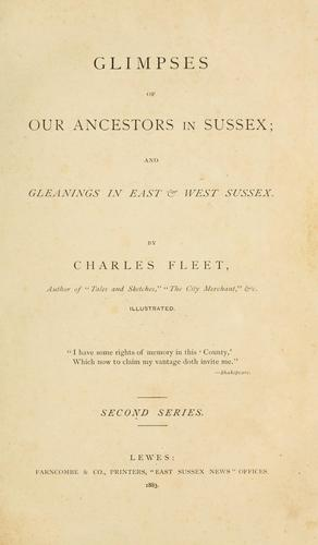 Glimpses of our ancestors in Sussex