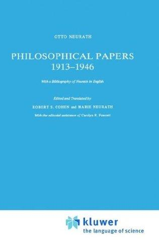 Philosophical papers, 1913-1946 by Otto Neurath