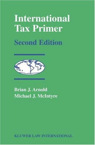International tax primer by Brian J. Arnold