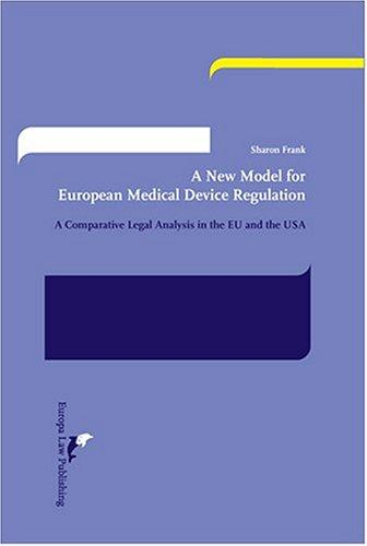 A new model for European medical device regulation by Sharon Frank